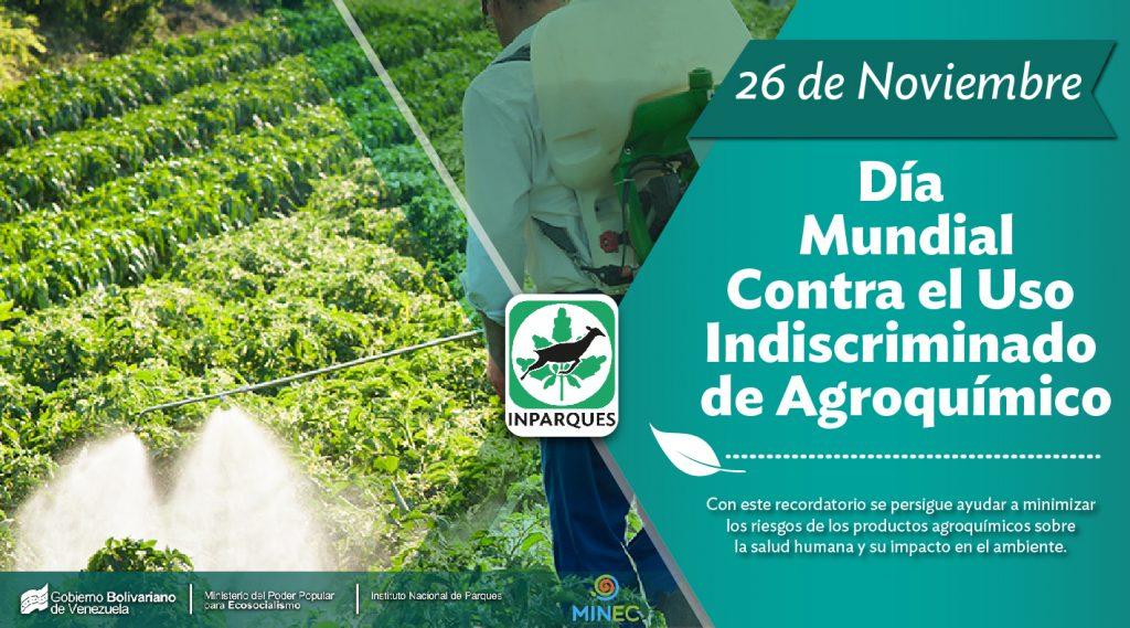 Conmemoran Día Mundial contra el Uso Indiscriminado de Agroquímicos