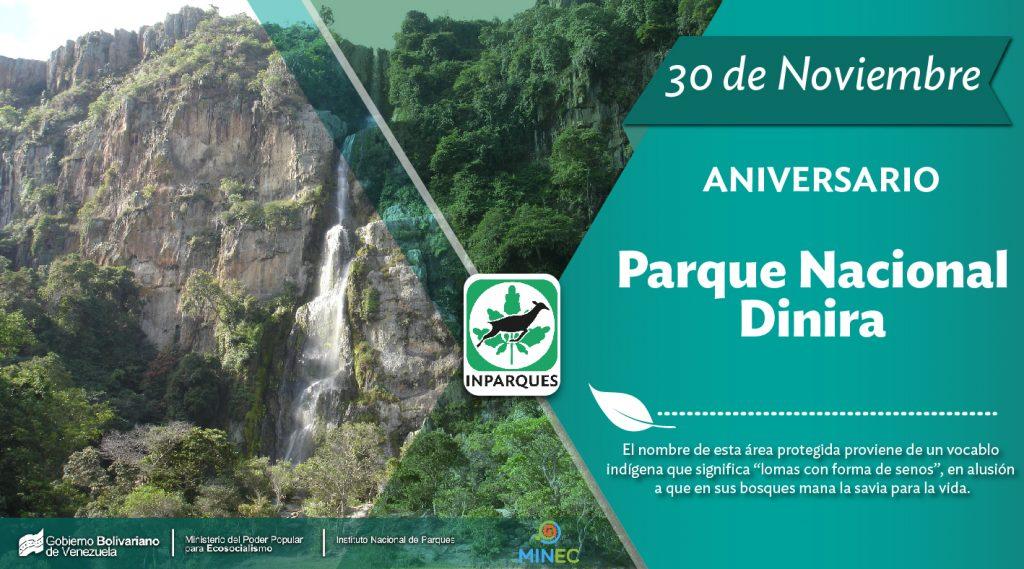 30 años cumple el Parque Nacional Dinira