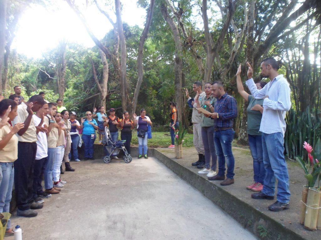 Juramentada brigada de jóvenes guardaparques en Yaracuy