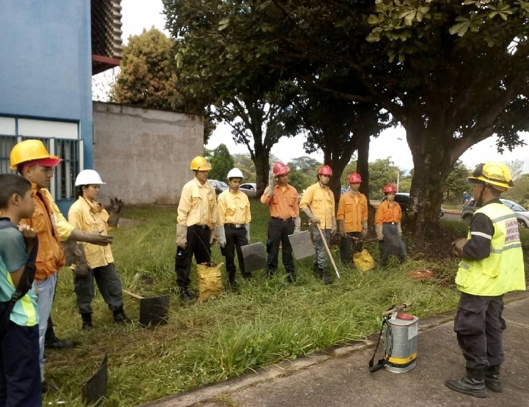 Taller de prevención de incendios forestales se realizó en Táchira