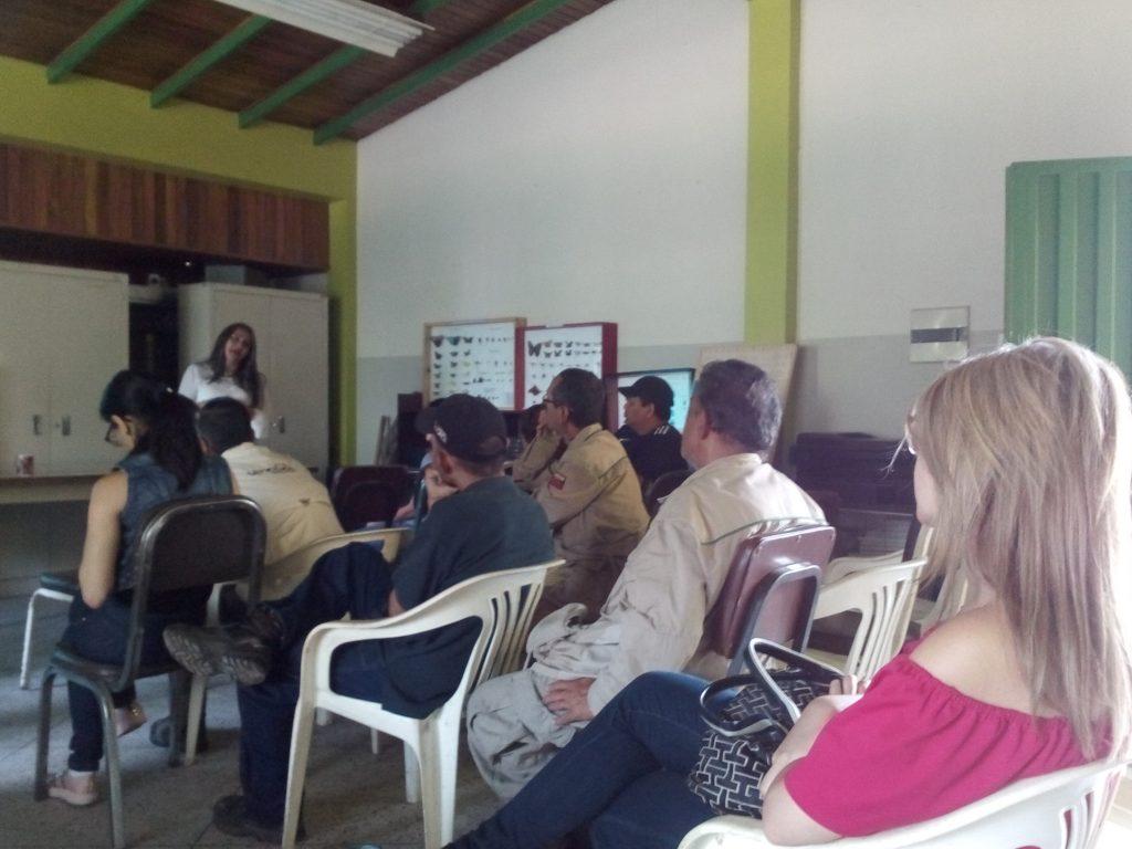 Inparques participó en taller de sensibilización sobre incorporación laboral de personas con discapacidad