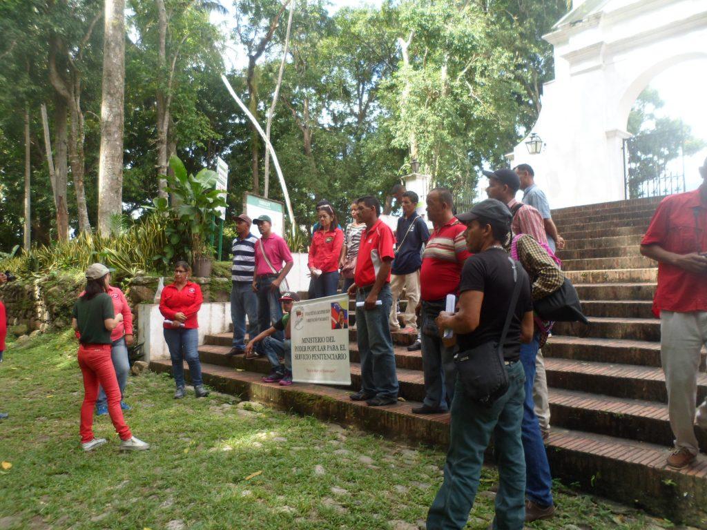 Jóvenes bajo régimen de presentación disfrutaron visita guiada en el Parque San Felipe El Fuerte