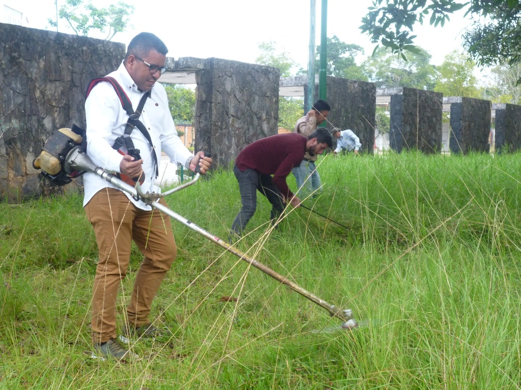 Ministro Rangel participó en recuperación del Parque Metropolitano de San Cristóbal
