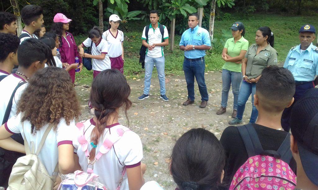 Monumento María Lionza recibió a estudiantes del Municipio Bruzual