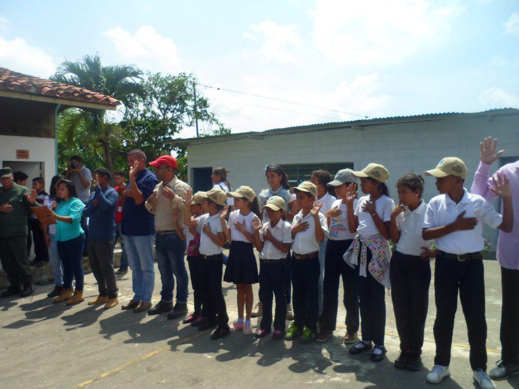 Inparques juramentó brigada integral comunitaria en Yaracuy