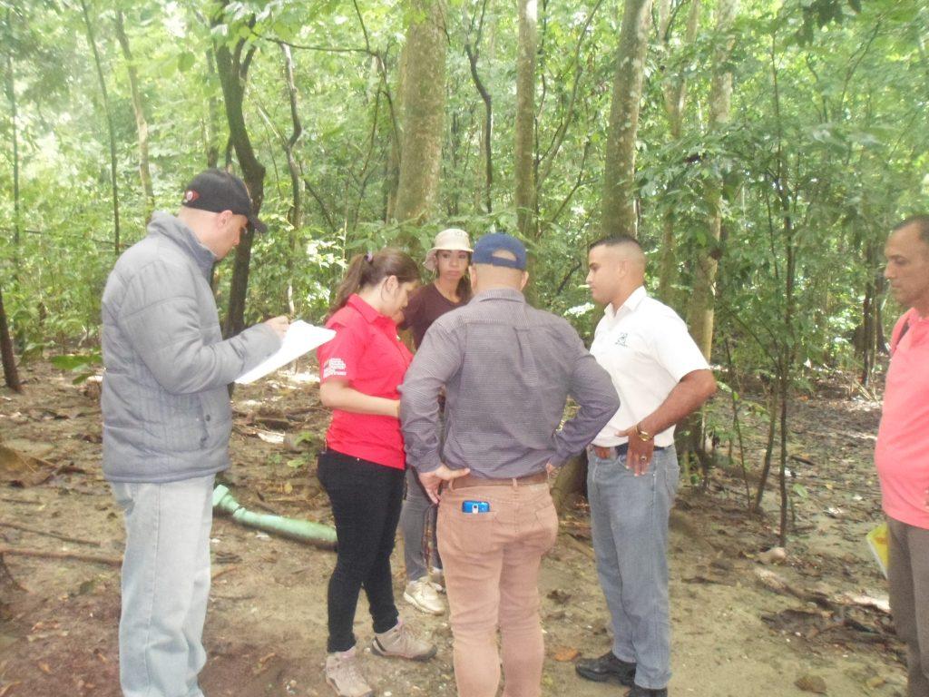 Directora de Parques Nacionales de Inparques visitó el Cerro María Lionza