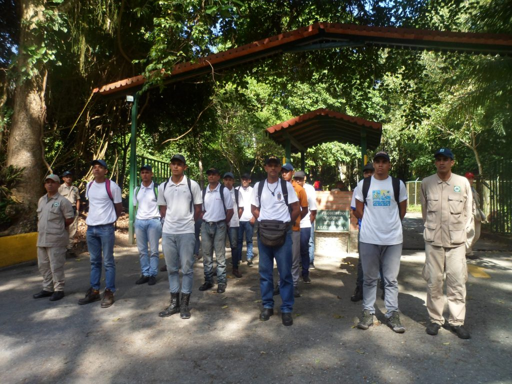 Inparques incorporó 20 voluntarios al Cuerpo Civil de Guardaparques en Yaracuy