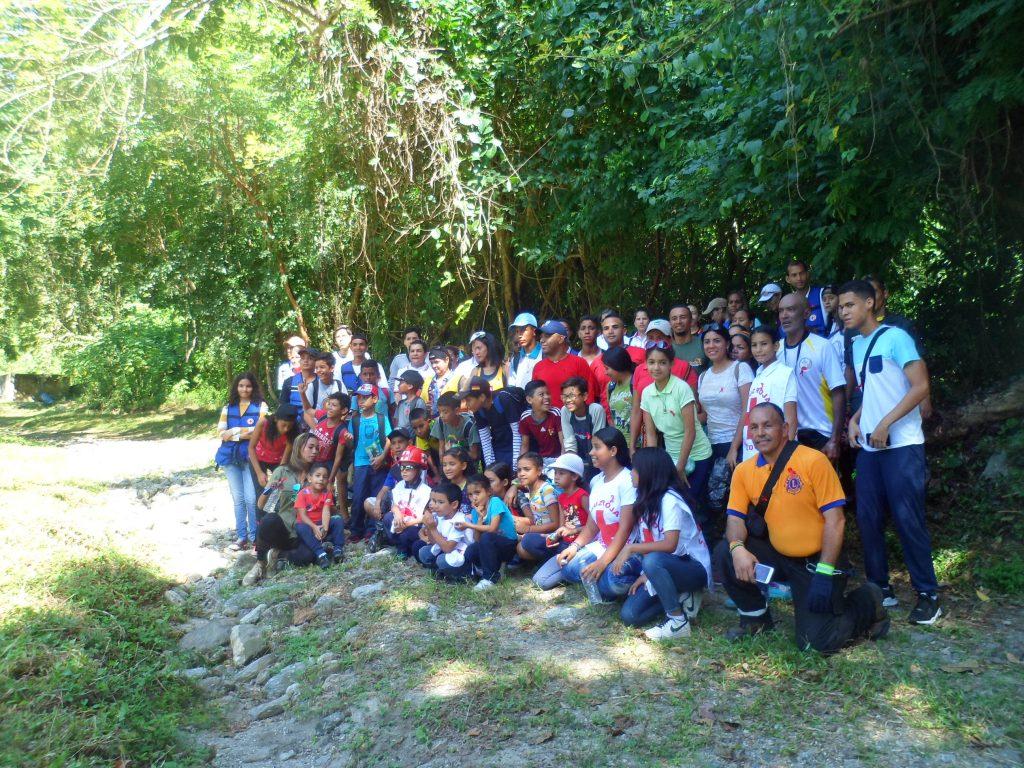 """Inparques efectuó lanzamiento del programa """"Amigos del Parque"""" en el Parque Nacional Yurubí"""