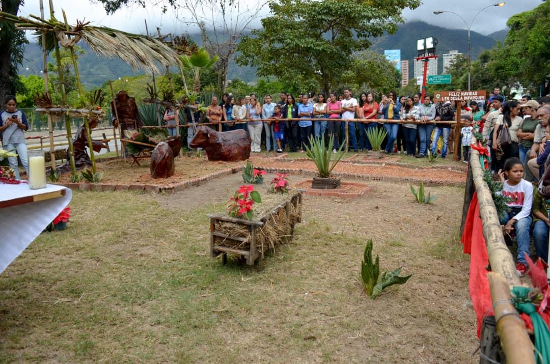 Inparques se viste de navidad con inauguración del pesebre ecológico 2018