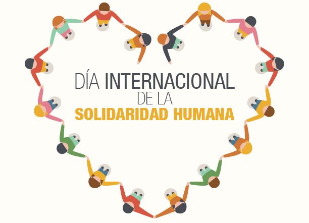 20 de diciembre: Día Internacional de la Solidaridad Humana