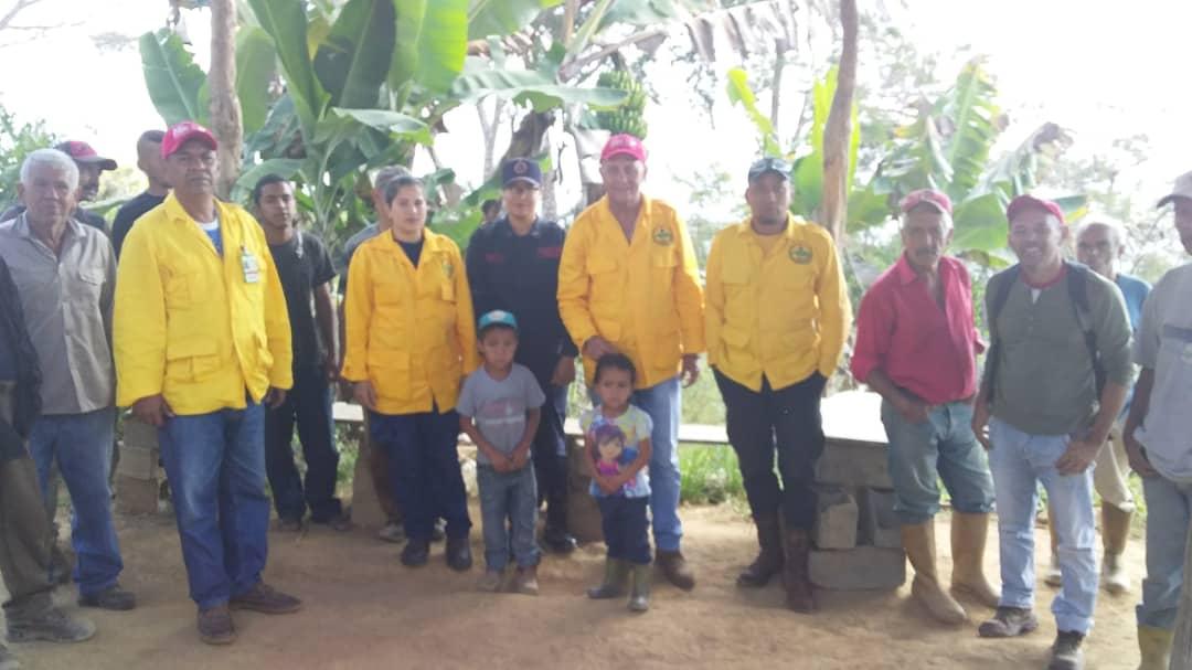 Bomberos Forestales impartieron charlas en escuelas del municipio San Felipe