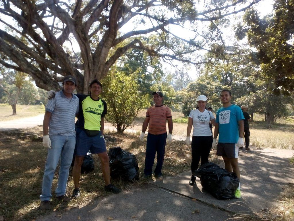 Amigos del Parque realizaron saneamiento del Parque Metropolitano de San Cristóbal
