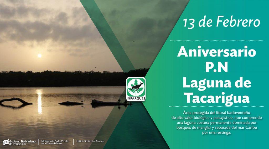 Parque Nacional Laguna de Tacarigua celebra su 45 aniversario