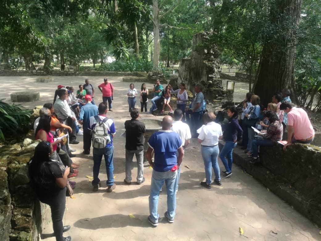 Parque Histórico Arqueológico San Felipe el Fuerte recibe organismos del estado para atender amigos del parque