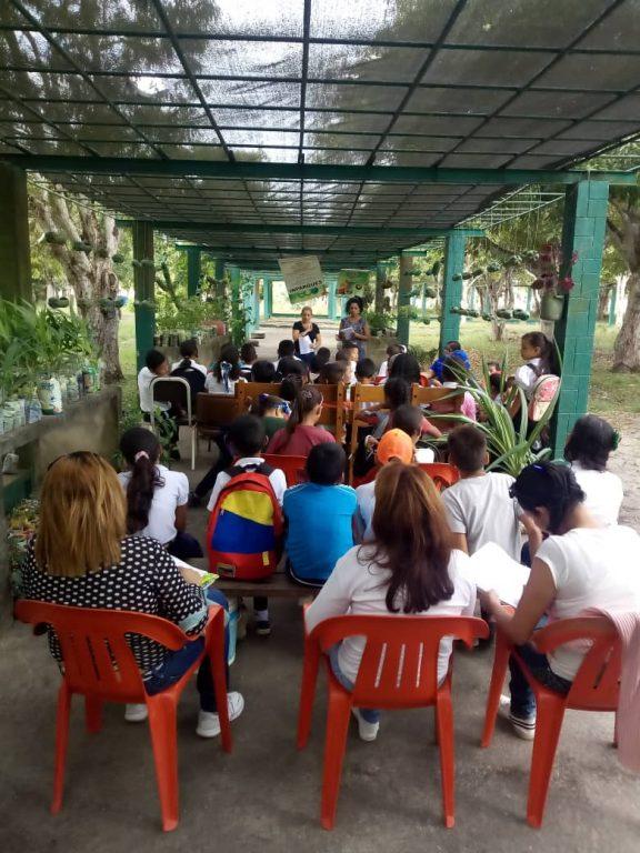 Servidores públicos realizaron formación a Pequeños Guardaparques en Monagas