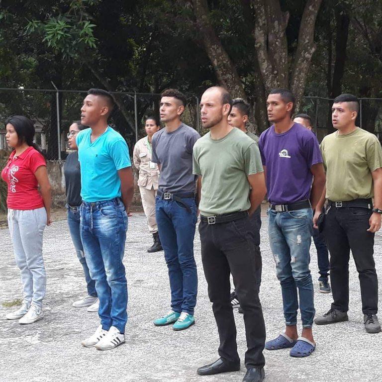 Inparques Barinas inició capacitación a jóvenes aspirantes a Guardaparques