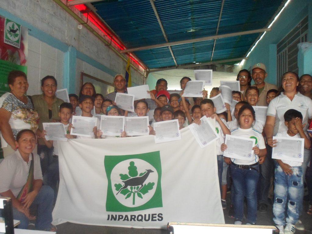 Juramentan brigada de Pequeños Guardaparques en el Monumento Natural Cerro María Lionza