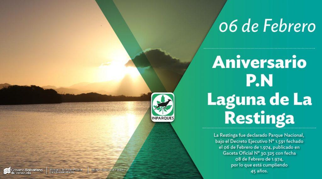 El Parque Nacional Laguna de La Restinga cumple 45 años
