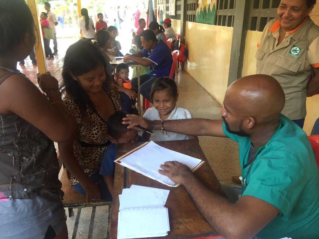 Comunidades indígenas del estado Zulia recibieron jornada de atención médica integral