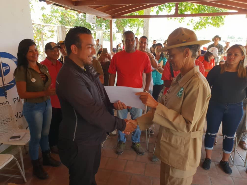 Parque Laguna de Tacarigua celebró sus 45 años con reconocimiento a la primera mujer Guardaparques
