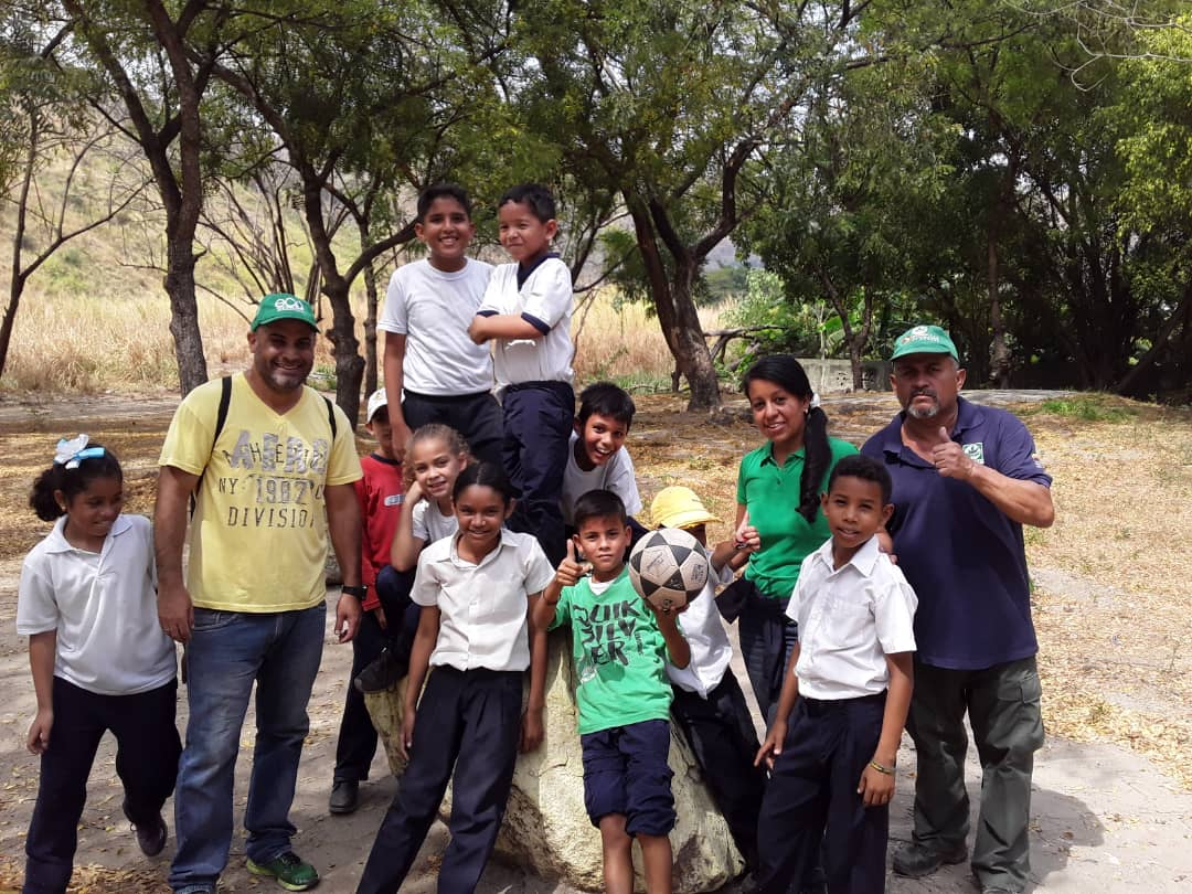 Sensibilizan a escolares en materia ambiental en el estado Aragua