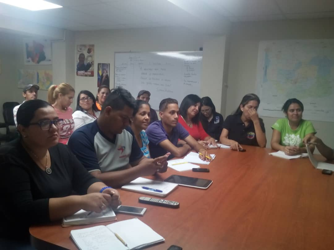 Inparques Trujillo presentó Plan de Trabajo Carnavales 2019