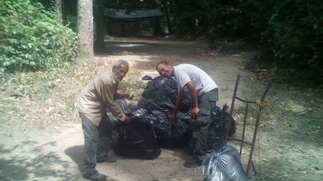 Inparques promovió saneamiento ambiental en el Monumento Natural María Lionza