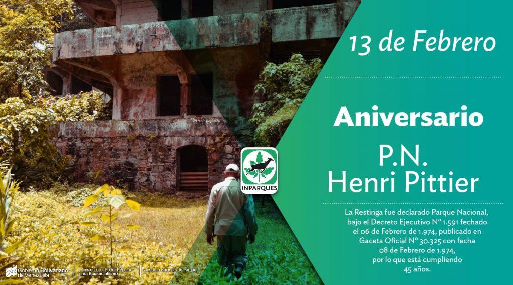 El Parque Nacional Henri Pittier cumple 82 años