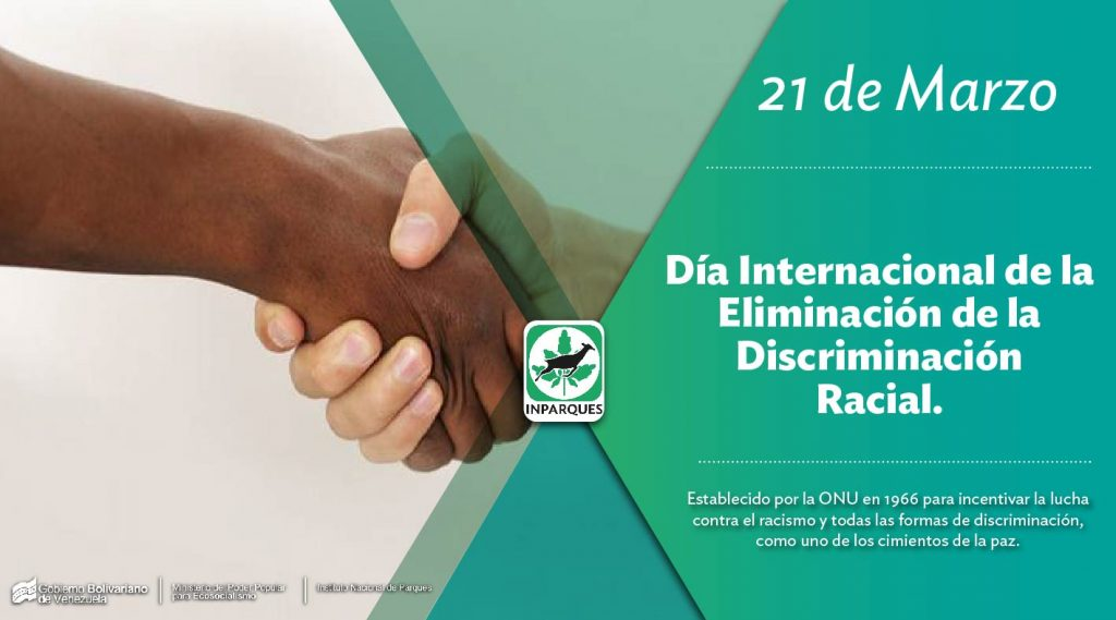 21 de marzo: Día Internacional de la Eliminación de la Discriminación Racial