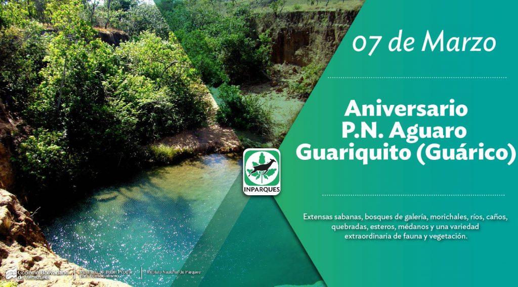 Inparques celebra 45 años de creación del Parque Nacional Aguaro Guariquito