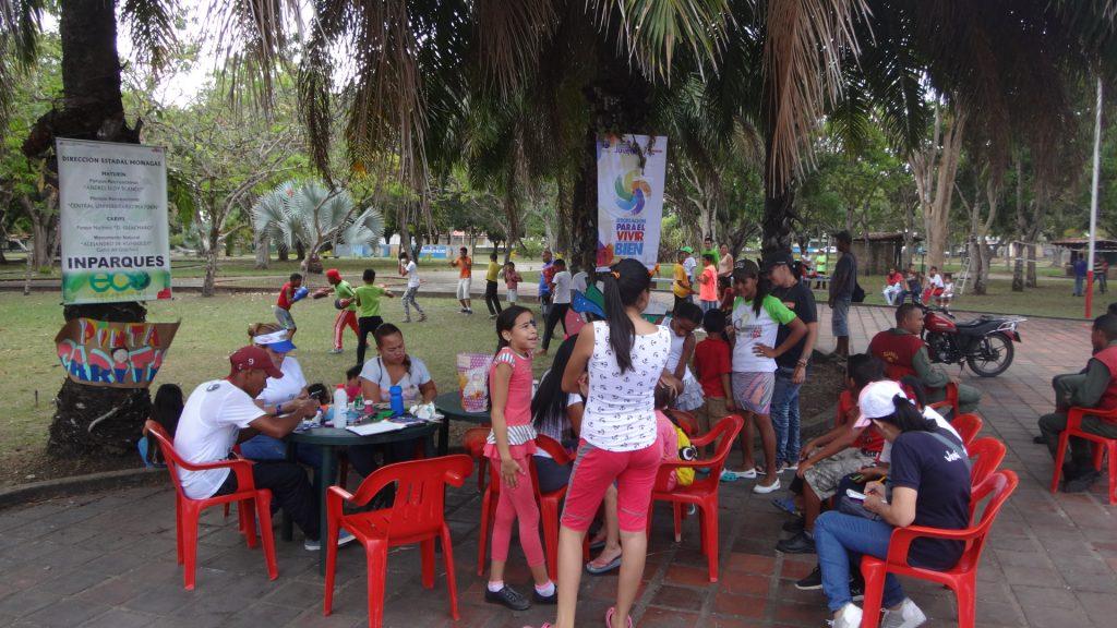 Inparques Monagas da continuidad al XVII Festival Carnavales en paz 2019
