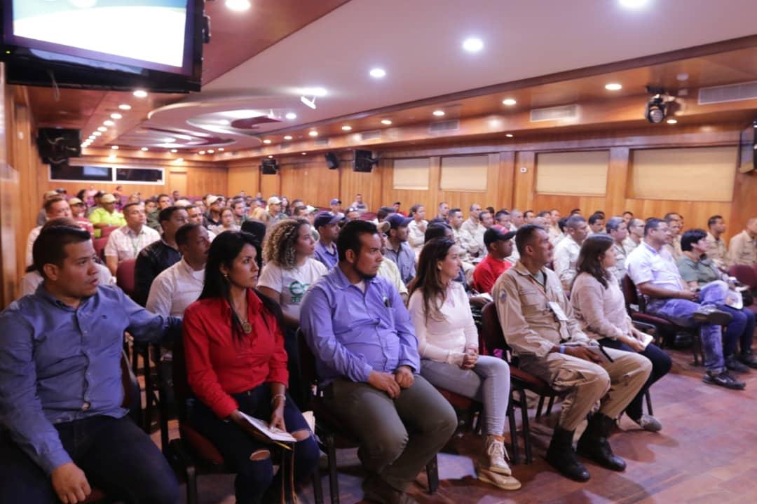 Inparques efectuó acto de apertura del Primer Encuentro Ecosocialista de Parques 2019