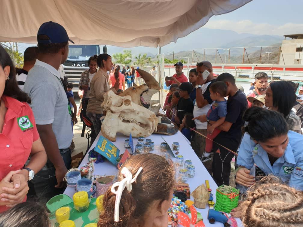Inparques participó en Jornada de Atención Integral por la Paz y la Vida en Vargas