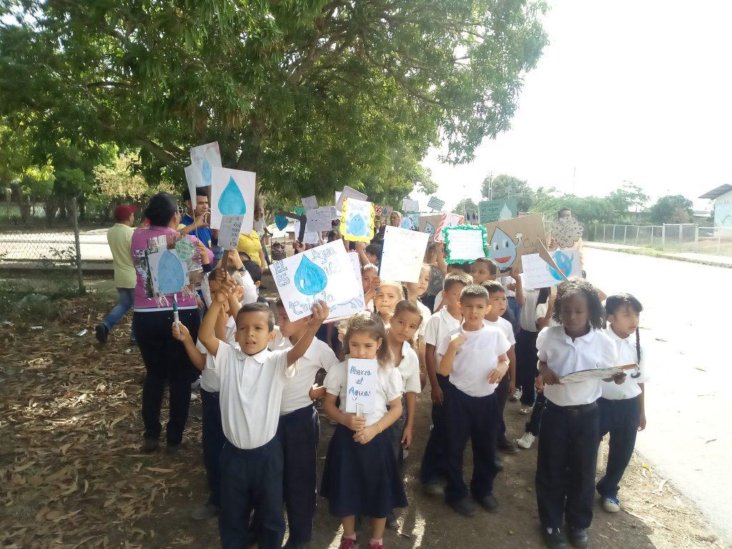 Conmemoraron en Inparques Monagas el Día Mundial del Agua