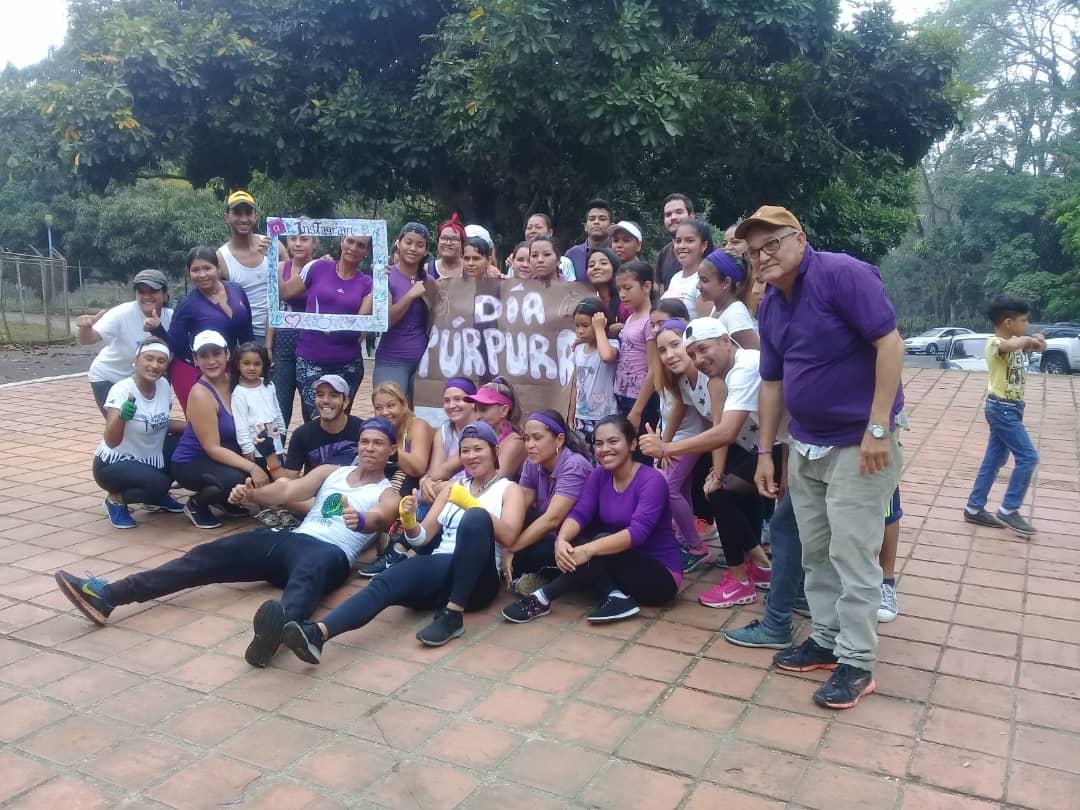 Yaracuyanos conmemoraron el Día Púrpura en apoyo a las personas epilépticas