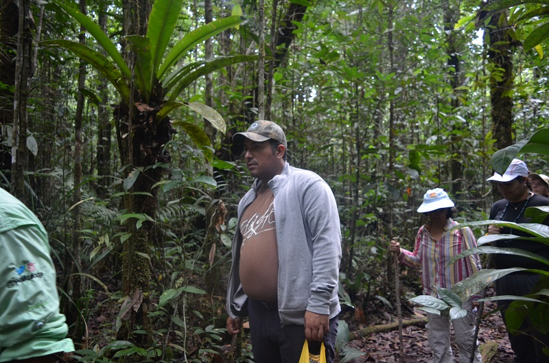 Viceministro Josué Lorca inspeccionó campamentos y sendero del Parque Nacional Canaima