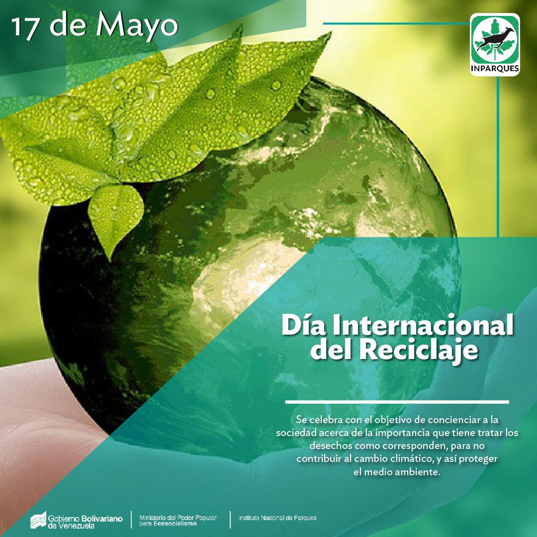 Venezuela celebra el Día Mundial del Reciclaje