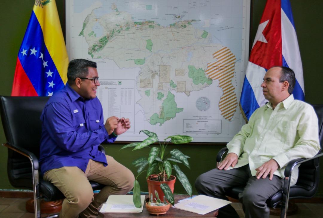 Cuba y Venezuela fortalecen cooperación en materia ambiental