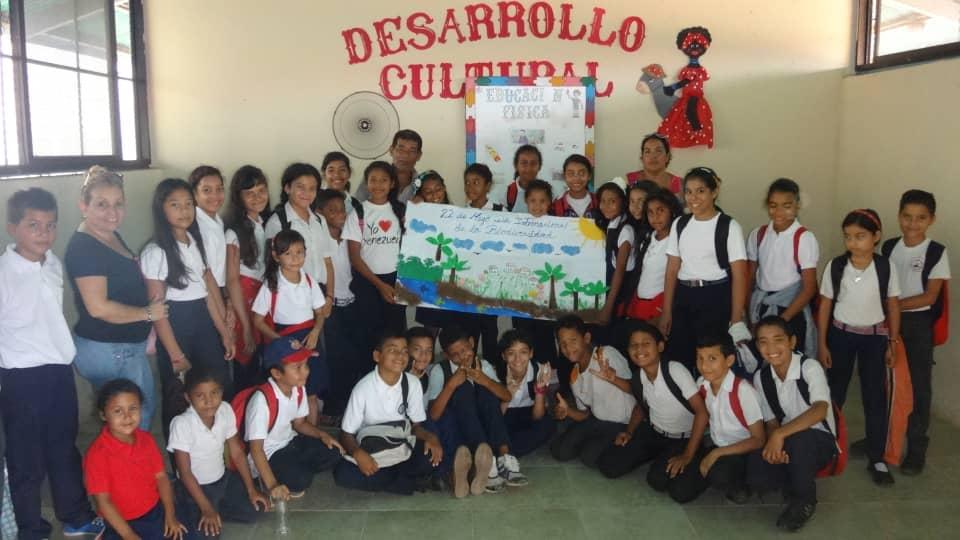 Escolares de Maturín celebraron el Día de la Diversidad Biológica con Inparques