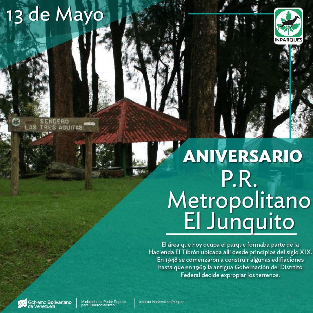 Parque Metropolitano El Junquito celebró sus 44 años