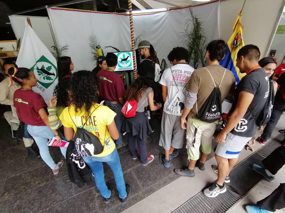 Concluyó participación de Inparques en el Congreso Latinoamericano y Caribeño de Estudiantes
