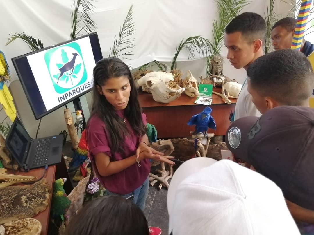 Inparques lleva su mensaje ambientalista a estudiantes latinoamericanos y caribeños