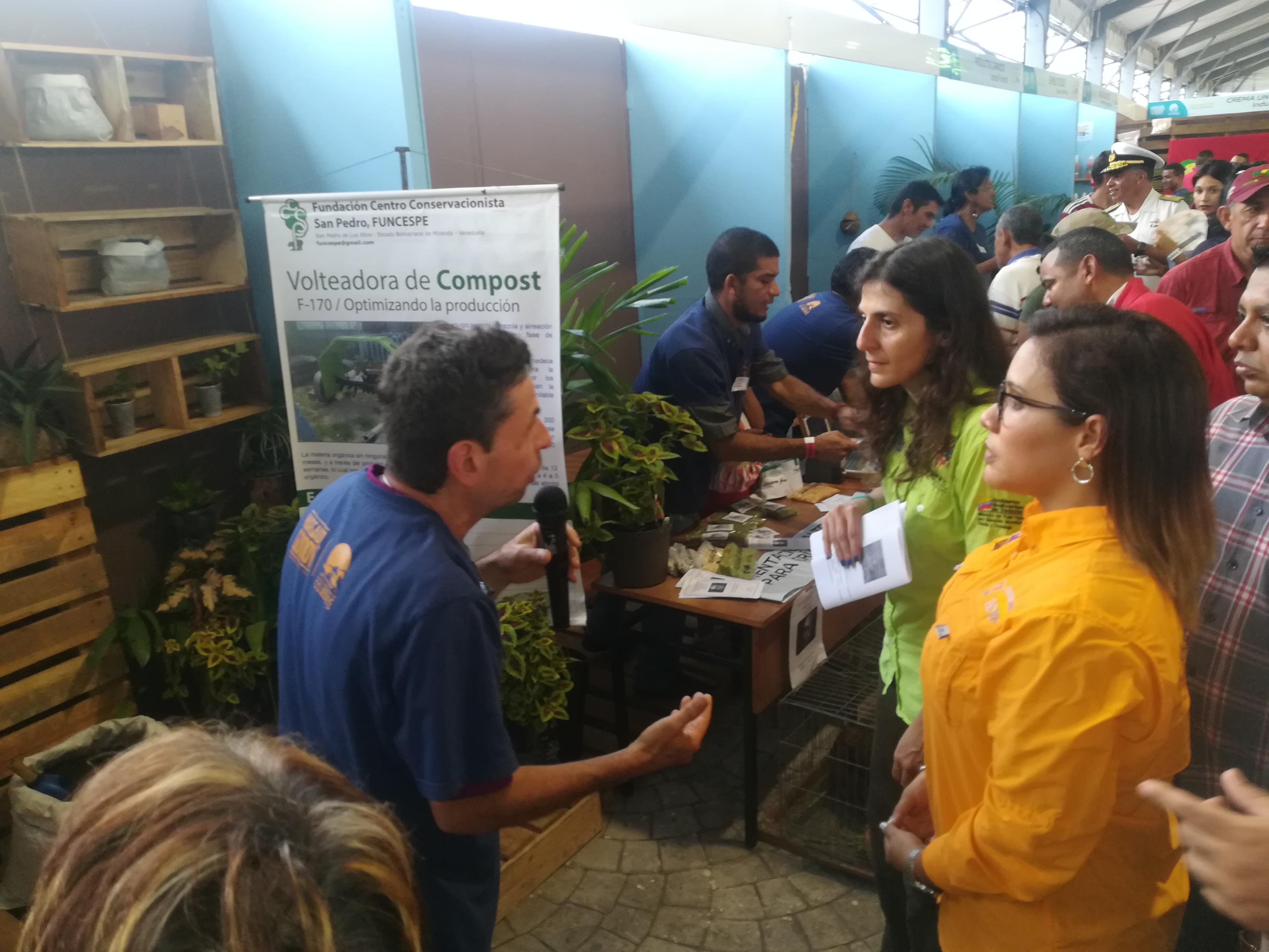 Los ecosocialistas promovieron el reciclaje en Expoferia Cojedes Innova 2019