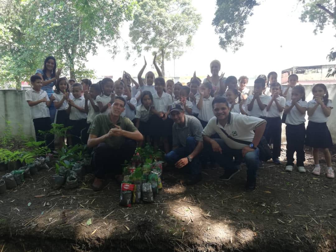 El Parque San Felipe El Fuerte recibió a Pequeños Guardaparques