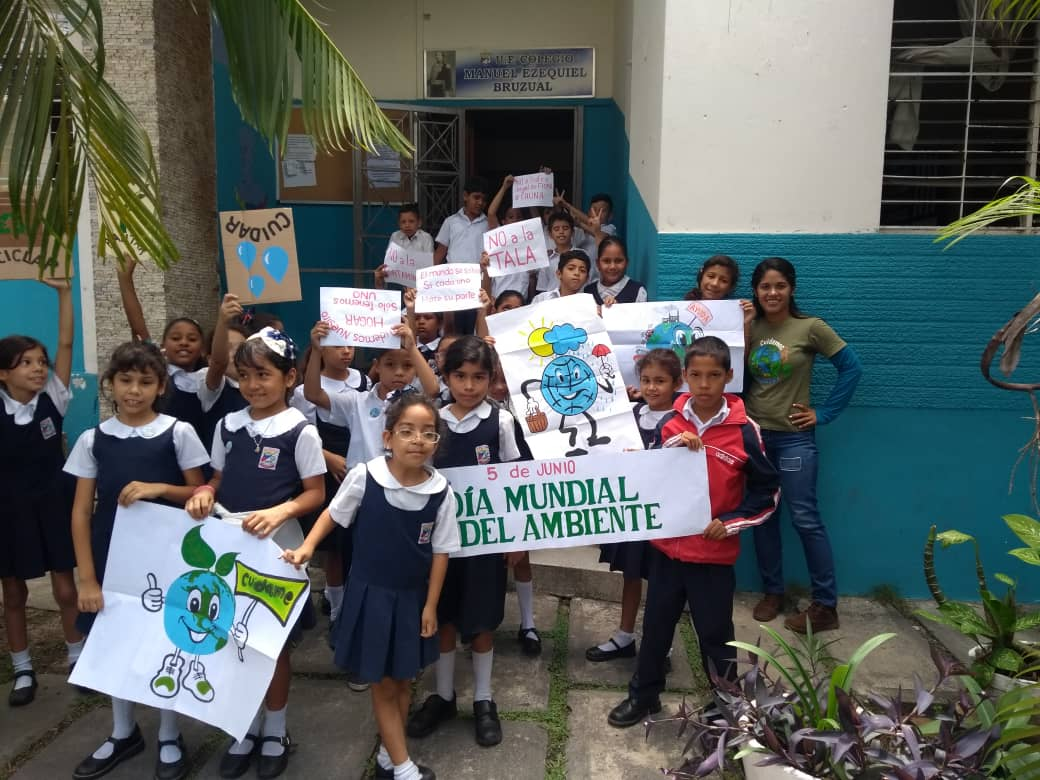 Inparques Yaracuy llevó mensaje ambiental a dos centros educativos