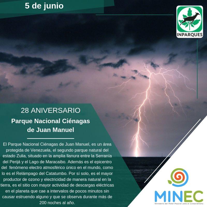 El Parque Ciénagas de Juan Manuel resplandece en su 28 aniversario
