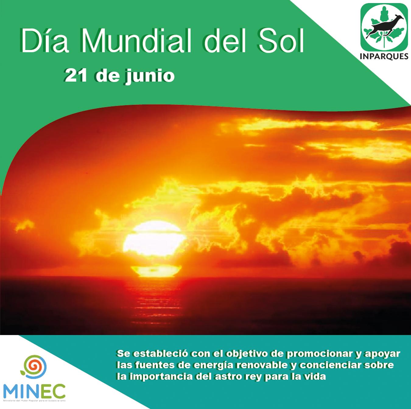 El Día Mundial del Sol resalta su importancia para la vida