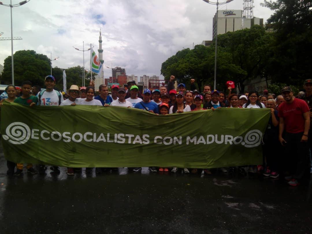 Pueblo bolivariano se movilizó en rechazo a informe de Bachelet