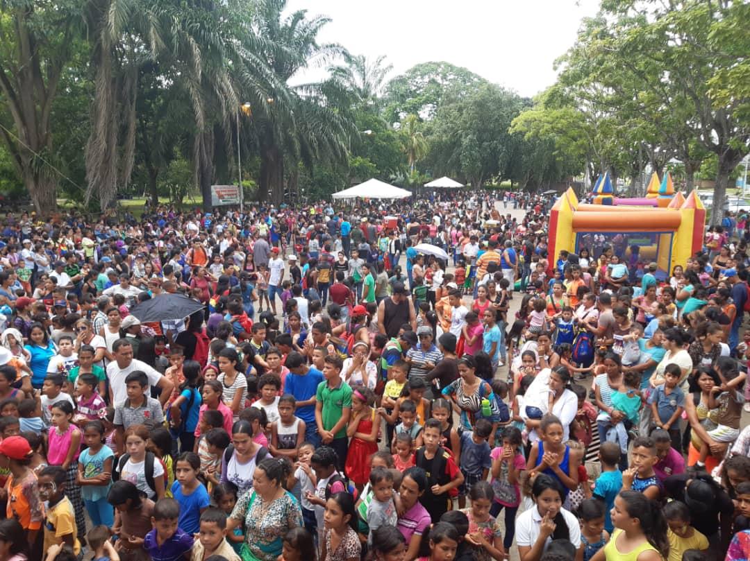 Inparques Delta agasajó a más de 8 mil niños y niñas en su día