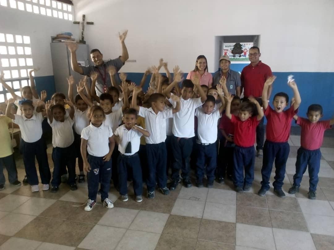 El programa Inparques va a la escuela llegó a Naricual